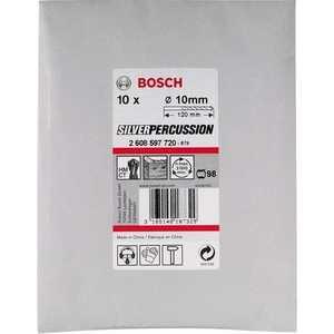 Сверло по бетону Bosch 6.0х60х100мм 10шт CYL-3 (2.608.597.716) сверло bosch 2608597667 бетон cyl 3 12х150мм silverperc
