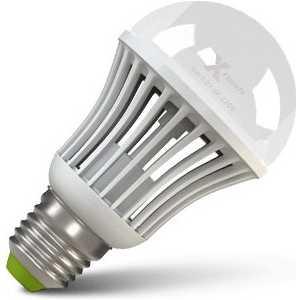 Светодиодная лампа X-flash XF-BGD-E27-9W-4000K-220V Артикул 43231 диммируемая лампочка светодиодная philips essential ledbulb 929001962887 цоколь e27 9w 4000k