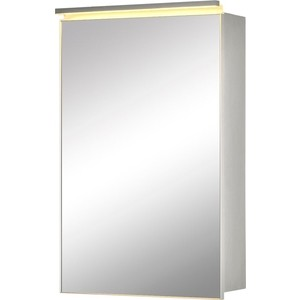 Зеркальный шкаф De Aqua Алюминиум 50 (AL 501 050 S)