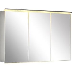 Зеркальный шкаф De Aqua Алюминиум 120 (AL 507 120 S)