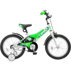 Велосипед Stels 16 Jet Z010 (Белый/Салатовый) LU072120 фото