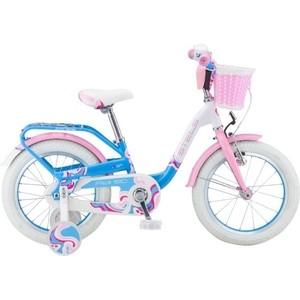 Велосипед Stels 16 Pilot 190 V030 (Белый/Розовый/Голубой) LU074711 цена