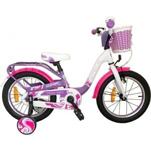 Велосипед Stels 16 Pilot 190 V030 (Фиолетовый/Розовый/Белый) LU074703 цена