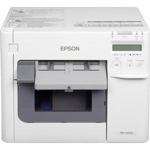 Принтер для печати этикеток Epson TM-C3500 цена