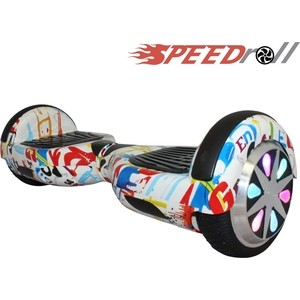 Гироскутер SpeedRoll Premium Smart LED NEW Граффити