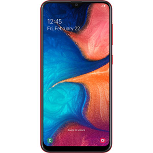 Смартфон Samsung Galaxy A20 3/32GB Red