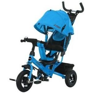 Велосипед трехколесный Moby Kids Comfort 10x8 AIR, синий (641225) цена