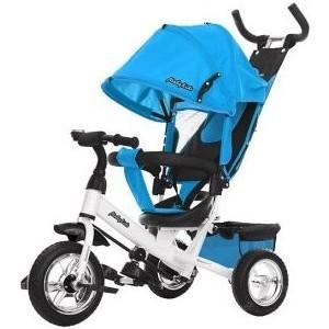 Велосипед трехколесный Moby Kids Comfort 10x8 EVA, голубой (641221) велосипед scool xxlite alloy 20 3 ск nexus голубой scool