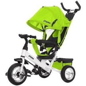 Велосипед трехколесный Moby Kids Comfort 10x8 EVA, зеленый (641222)