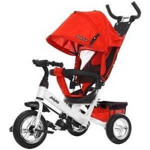 Велосипед трехколесный Moby Kids Comfort 10x8 EVA, красн. (641219)