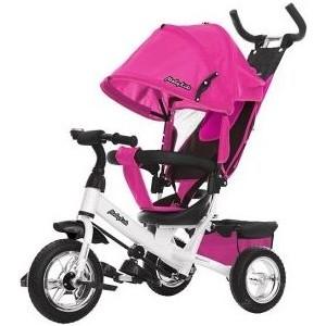 велосипед pegasus comfort sl 7 sp 28 2016 Велосипед трехколесный Moby Kids Comfort 10x8 EVA, розовый (641220)