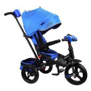 Велосипед трехколесный Moby Kids New Leader 360 12x10 AIR Car, синий (641211)