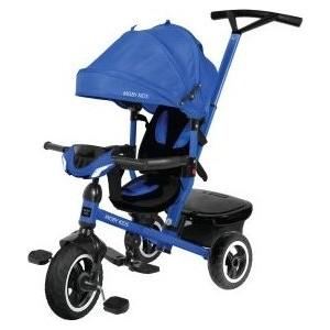 Велосипед трехколесный Moby Kids Rider 360, 10x8 AIR Car, синий (641207)