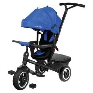 Велосипед трехколесный Moby Kids Rider 360, 10x8 AIR, синий (641204)