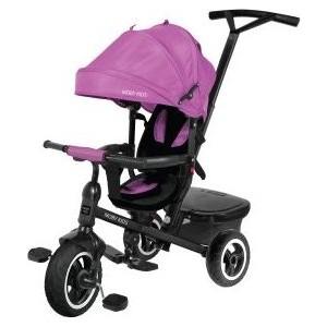 Велосипед трехколесный Moby Kids Rider 360, 10x8 AIR, фиолетовый (641205)
