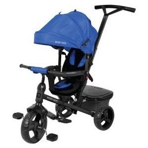 Велосипед трехколесный Moby Kids Rider 360, 10x8 EVA, синий (641201) цена