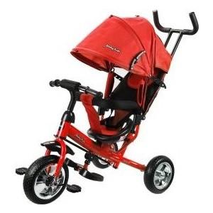 Велосипед трехколесный Moby Kids Start 10x8 EVA, красный (641215)
