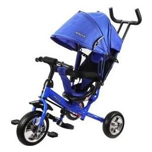 Велосипед трехколесный Moby Kids Start 10x8 EVA, синий (641216)