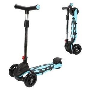 цена на Самокат 3-х колесный Moby Kids складной, 120 мм PVC (641268)
