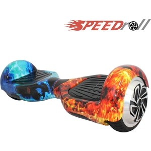 Гироскутер SpeedRoll Premium Smart Красно-синий огонь цена 2017
