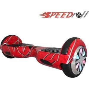 Гироскутер SpeedRoll Premium Smart LED NEW Красный человек паук гироскутер speedroll premium smart led 01lapp с самобалансировкой red