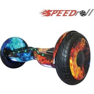цена на Гироскутер SpeedRoll Premium Roadster Красно-синий огонь