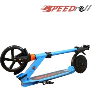 Самокат с электроприводом SpeedRoll E9S Синий