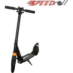 Самокат с электроприводом SpeedRoll E9S Черный электрический самокат speedroll e 5 черный