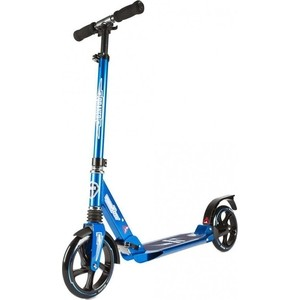 Самокат 2-х колесный HELLO WOOD HW RACER (HW - SC000806 - Синий) скейт hello wood hw long board 38 seven
