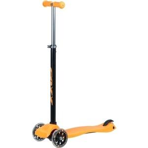 Самокат 3-х колесный NOVATRACK FOXX RainBow, подростковый, max 60кг, оранжевый FX. RAINBOW. OR8