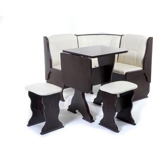 Набор мебели для кухни Бител Нарцисс-однотонный (венге, Борнео крем)