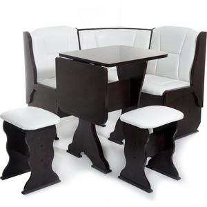 Набор мебели для кухни Бител Нарцисс-однотонный (венге, Борнео милк)