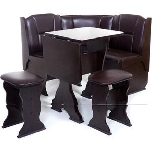 Набор мебели для кухни Бител Нарцисс-однотонный (венге, Борнео умбер)