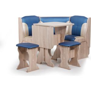 Набор мебели для кухни Бител Нарцисс-комби (дуб сонома, терра эффект-114 + С.-101) цена и фото