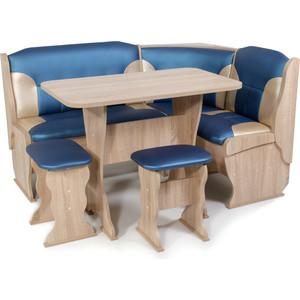 Набор мебели для кухни Бител Орхидея-комби (дуб сонома, терра эффект-114 + С.-101) цена и фото