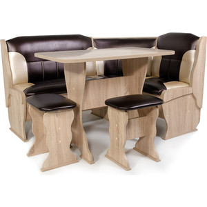 Набор мебели для кухни Бител Орхидея-комби (дуб сонома С.-221 + С-101)