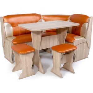 Набор мебели для кухни Бител Орхидея-комби (дуб сонома С.-120 + С.-101)