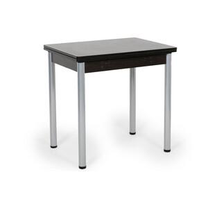 Стол раскладной Бител Ирис венге серебро