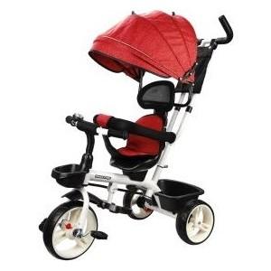 Велосипед трехколесный Наша Игрушка Новый Старт 360, 10*8 EVA, красный (641226)