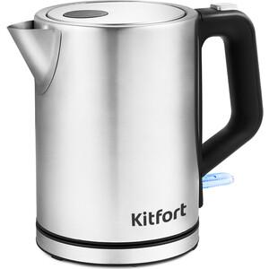 Чайник электрический KITFORT KT-636 чайник электрический kitfort kt 609 серебристый черный