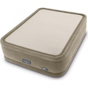 Надувная кровать Intex 64936 PremAire ThermaLux Airbed 152х203х51см (встроенный насос 220V)