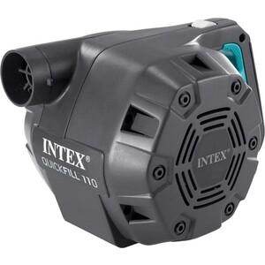Насос электрический Intex 66644 Quick-Fill (220В от бытовой сети) 3 насадки со шлангом