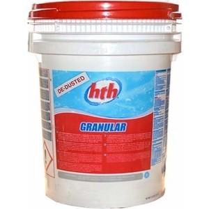 Быстрорастворимый хлор HTH 72303 в гранулах для уничтожения грибков вирусов и бактерии GRANULAR 25 кг
