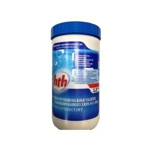 Многофункциональные таблетки HTH K801751H2 по 200гр/1,2кг 5 в 1 стабилизированный хлор Maxitab Action