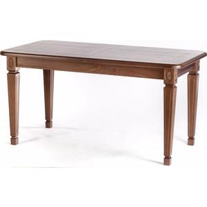 Стол обеденный Мебелик Меран 01 раздвижной орех 120/170х80