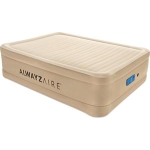 Надувная кровать Bestway 69037 BW Alwayzaire Fortech 203х152х51 см (встроенный электронасос с автоподкачкой)