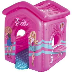 Домик надувной Bestway 93208 BW Барби 150 х 135 х 142 см круг надувной bestway лодочка 69 х 102 см розовый