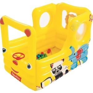 Игровой центр Bestway 93506 Школьный автобус (с 20 шариками) 137х96х96см Fisher Price
