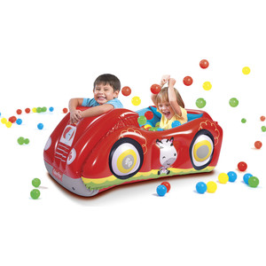 Игровой центр Bestway 93520 Машина (с 25 шариками) Fisher Price 119 х 79 51 см