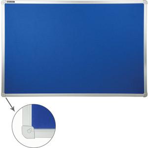 Доска c текстильным покрытием BRAUBERG 231700 синяя, для объявлений 60x90